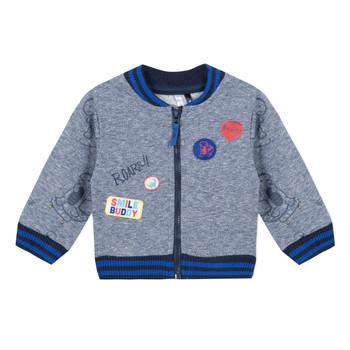 Textil Chlapecké Mikiny 3 Pommes VALENTIN Modrá