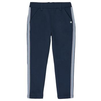 Textil Dívčí Kapsáčové kalhoty 3 Pommes SYLVANA Modrá