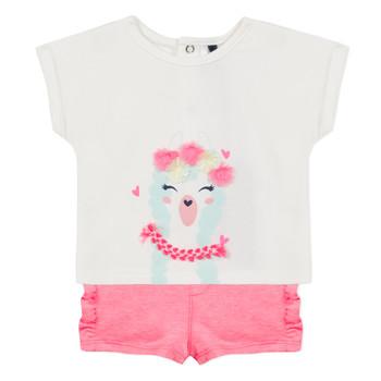Textil Dívčí Set 3 Pommes JULIEN Růžová