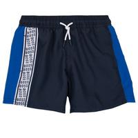 Textil Chlapecké Kraťasy / Bermudy BOSS MOZEL Modrá