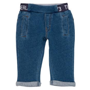 Textil Chlapecké Kapsáčové kalhoty Timberland VALENTIN Modrá