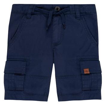 Textil Chlapecké Kraťasy / Bermudy Timberland LUKA Modrá