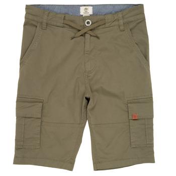 Textil Chlapecké Kraťasy / Bermudy Timberland TAO Zelená