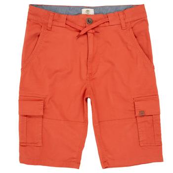 Textil Chlapecké Kraťasy / Bermudy Timberland STANISLAS Červená