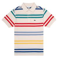 Textil Chlapecké Polo s krátkými rukávy Lacoste HENRI