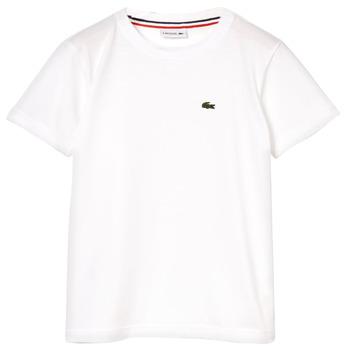 Textil Chlapecké Trička s krátkým rukávem Lacoste ALIZE Bílá
