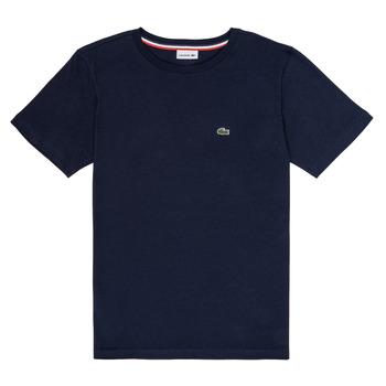 Textil Chlapecké Trička s krátkým rukávem Lacoste KETLEEN Tmavě modrá
