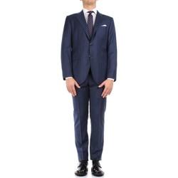Textil Muži Obleky Kiton 0302S15/25 Modrá