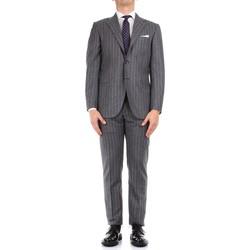 Textil Muži Obleky Kiton 0252S08/2 Šedá