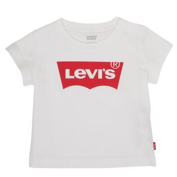 Textil Chlapecké Trička s krátkým rukávem Levi's BATWING TEE Bílá