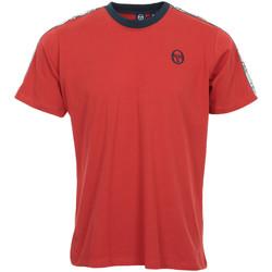 Textil Muži Trička s krátkým rukávem Sergio Tacchini Dahoma T-Shirt Červená