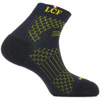 Textilní doplňky Sportovní ponožky  Lcf La Chaussette De France Running Alberta Černá
