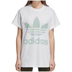 Textil Ženy Trička s krátkým rukávem adidas Originals Originals Big Trefoil Bílé