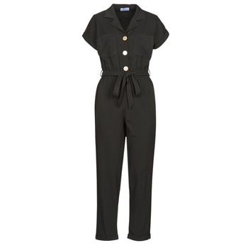 Textil Ženy Overaly / Kalhoty s laclem Betty London MYRTIL Černá