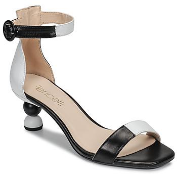 Boty Ženy Sandály Fericelli MARC Černá / Bílá