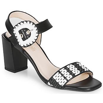 Boty Ženy Sandály Fericelli MAIRA Černá / Bílá