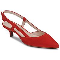 Boty Ženy Lodičky Fericelli JOLOIE Červená