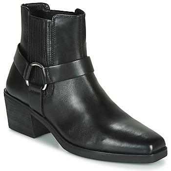 Boty Ženy Polokozačky Vagabond Shoemakers SIMONE Černá