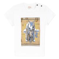 Textil Chlapecké Trička s krátkým rukávem Catimini LARIBI Bílá