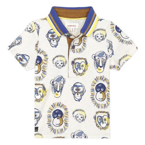 Textil Chlapecké Polo s krátkými rukávy Catimini ANAELE Béžová