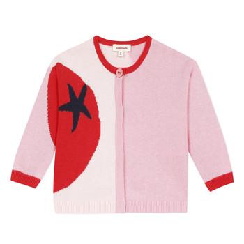 Textil Dívčí Svetry / Svetry se zapínáním Catimini LIANA Růžová
