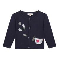 Textil Dívčí Svetry / Svetry se zapínáním Catimini LOUNA Modrá