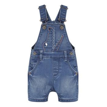 Textil Chlapecké Overaly / Kalhoty s laclem Catimini LYVIA Modrá