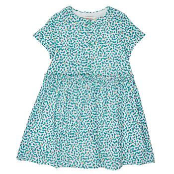 Textil Dívčí Krátké šaty Catimini ELLA Zelená / Modrá