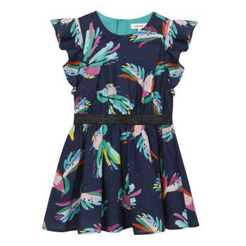 Textil Dívčí Krátké šaty Catimini CESAR Modrá