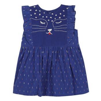 Textil Dívčí Krátké šaty Catimini CHARLES Modrá