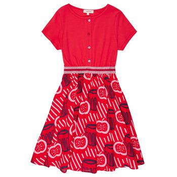 Textil Dívčí Krátké šaty Catimini MANOA Červená