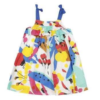 Textil Dívčí Krátké šaty Catimini THEO Bílá