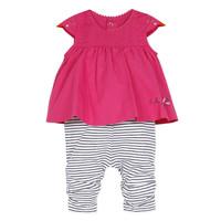 Textil Dívčí Overaly / Kalhoty s laclem Catimini ALOIS Červená