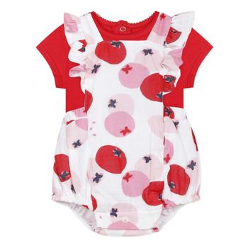 Textil Dívčí Set Catimini LUCIEN Červená