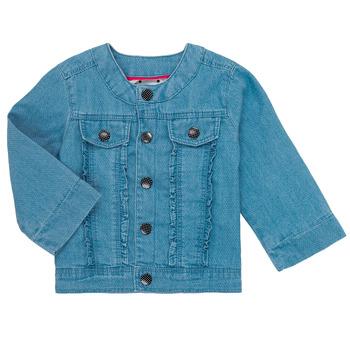 Textil Dívčí Bundy Catimini ELIOTT Modrá
