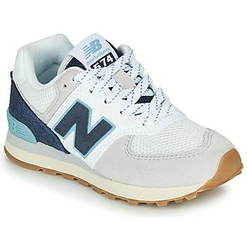 Boty Nízké tenisky New Balance GC574SOU Bílá / Modrá