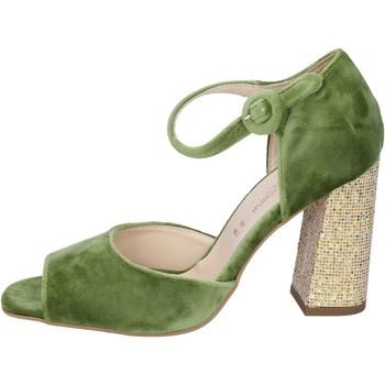 Boty Ženy Sandály Olga Rubini sandali velluto Verde