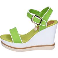 Boty Ženy Sandály Enrico Coveri sandali pelle sintetica Verde