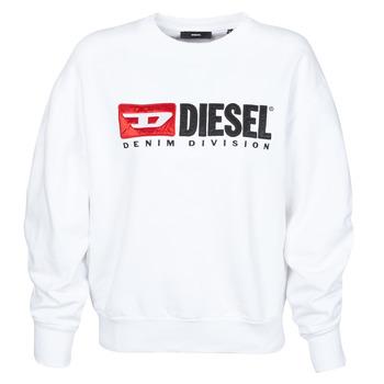 Textil Ženy Mikiny Diesel F-ARAP Bílá