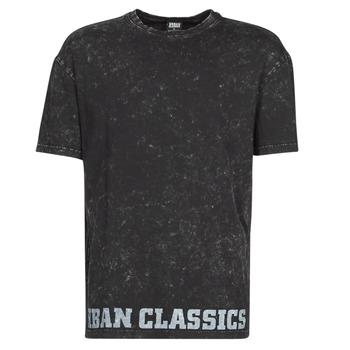 Textil Muži Trička s krátkým rukávem Urban Classics TOBI Černá