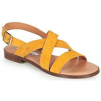 Boty Ženy Sandály Betty London MADISSON Žlutá