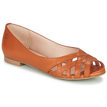 Boty Ženy Sandály Betty London MANDISE Zlatohnědá