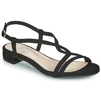 Boty Ženy Sandály Betty London MATISSO Černá