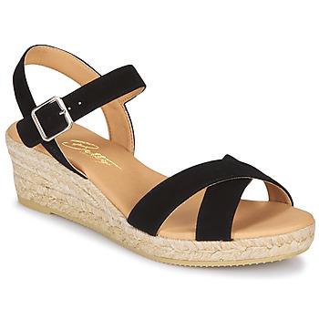 Boty Ženy Sandály Betty London GIORGIA Černá