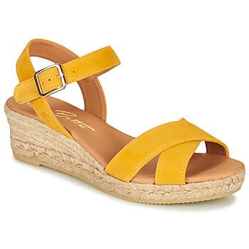 Boty Ženy Sandály Betty London GIORGIA Žlutá