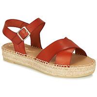 Boty Ženy Sandály Betty London MIZOU Hnědá