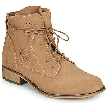 Boty Ženy Kotníkové boty Betty London MARILU Béžová
