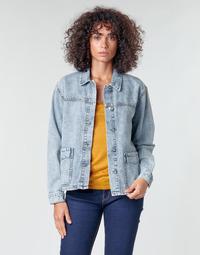 Textil Ženy Saka / Blejzry Noisy May NMMELODIE Modrá / Světlá