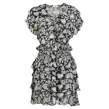 Textil Ženy Krátké šaty Replay  Černá / Bílá