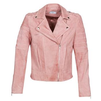 Textil Ženy Kožené bundy / imitace kůže Betty London MARILINE Růžová